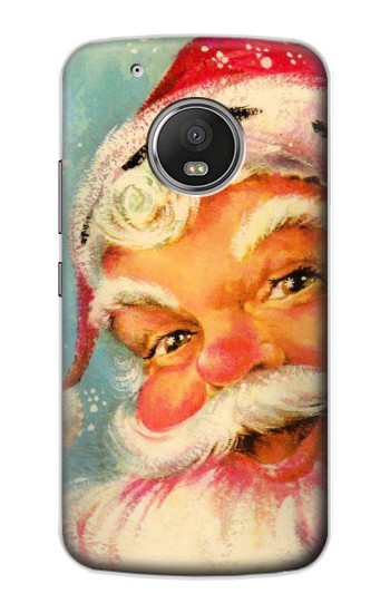 Printed Christmas Vintage Santa Apple iPod Touch 5G Case