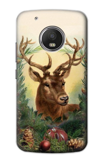 Printed Vintage Reindeer Christmas Apple iPod Touch 5G Case