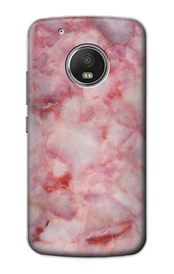 Printed Pink Marble Texture Apple iPod Touch 5G Case