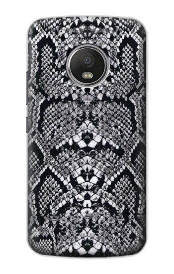 Printed White Rattle Snake Skin Apple iPod Touch 5G Case