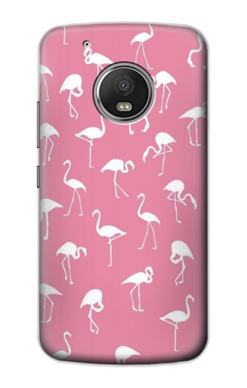 Printed Pink Flamingo Pattern Apple iPod Touch 5G Case