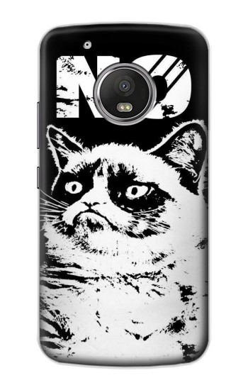 Printed Grumpy Cat No Apple iPod Touch 5G Case