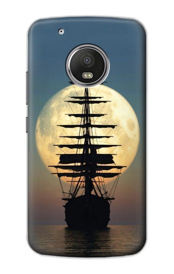 Printed Pirate Ship Moon Night Apple iPod Touch 5G Case