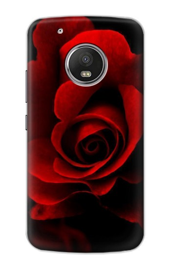 Printed Red Rose Apple iPod Touch 5G Case