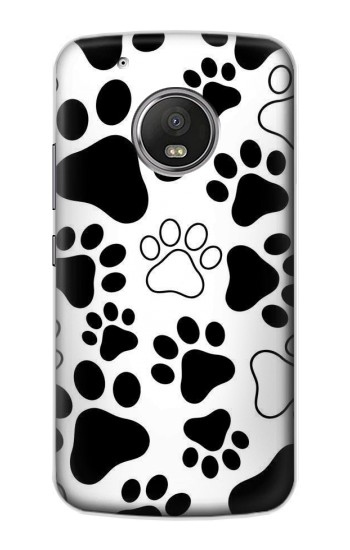Printed Dog Paw Prints Apple iPod Touch 5G Case