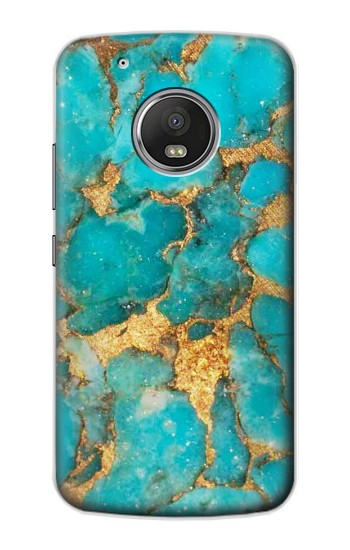 Printed Aqua Turquoise Stone Apple iPod Touch 5G Case