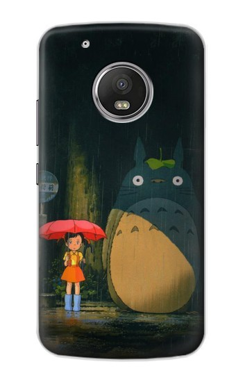 Printed Totoro Bus Stop Apple iPod Touch 5G Case