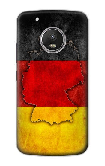 Printed Germany Flag Map Apple iPod Touch 5G Case