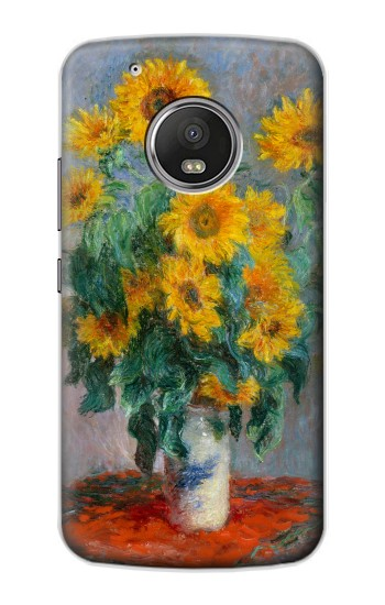 Printed Claude Monet Bouquet of Sunflowers Apple iPod Touch 5G Case