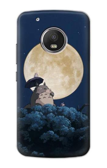 Printed Totoro Ocarina Moon Night Apple iPod Touch 5G Case