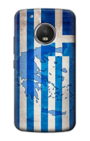 Printed Greece Map Flag Apple iPod Touch 5G Case