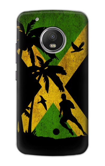 Printed Vintage Jamaica Flag Apple iPod Touch 5G Case