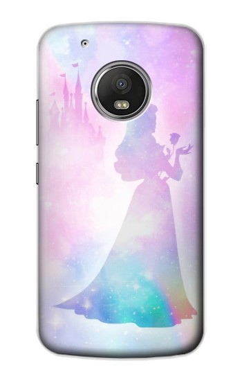 Printed Princess Pastel Silhouette Apple iPod Touch 5G Case