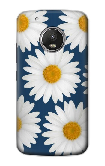 Printed Daisy Blue Apple iPod Touch 5G Case