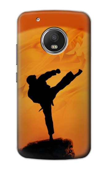 Printed Kung Fu Karate Fighter Apple iPod Touch 5G Case