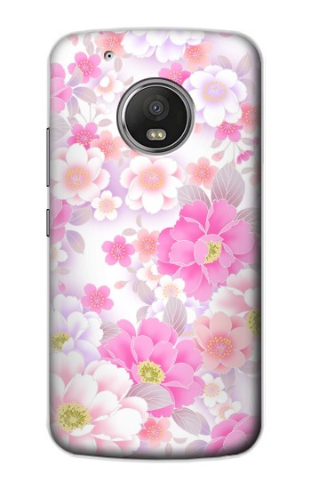 Printed Pink Sweet Flower Flora Apple iPod Touch 5G Case