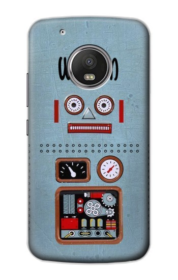 Printed Retro Robot Toy Apple iPod Touch 5G Case