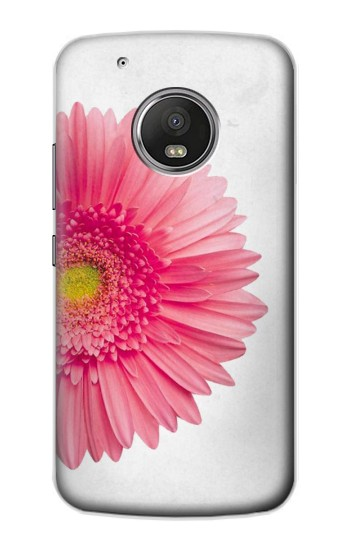 Printed Vintage Pink Gerbera Daisy Apple iPod Touch 5G Case