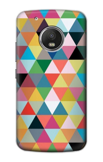 Printed Triangles Vibrant Colors Apple iPod Touch 5G Case