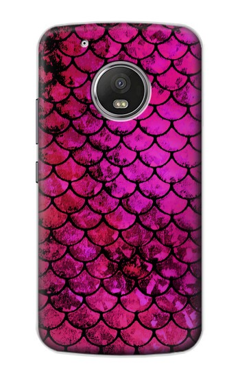 Printed Pink Mermaid Fish Scale Apple iPod Touch 5G Case