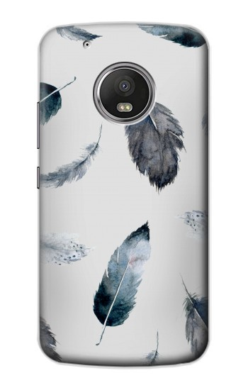 Printed Feather Paint Pattern Apple iPod Touch 5G Case