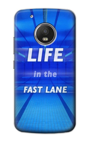 Printed Life in the Fast Lane Swimming Pool Apple iPod Touch 5G Case