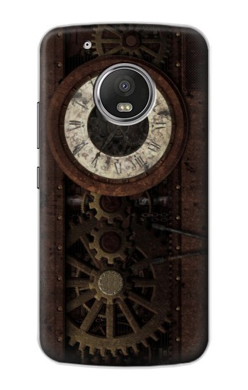 Printed Steampunk Clock Gears Apple iPod Touch 5G Case