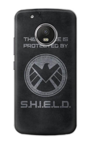 Printed This Device is Protected by Shield Apple iPod Touch 5G Case