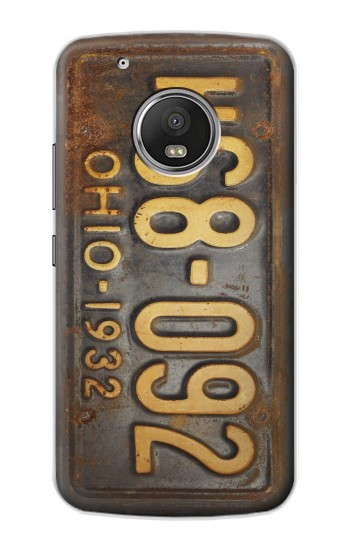 Printed Vintage Car License Plate Apple iPod Touch 5G Case