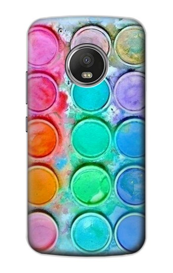 Printed Watercolor Mixing Apple iPod Touch 5G Case