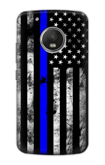 Printed Thin Blue Line USA Apple iPod Touch 5G Case