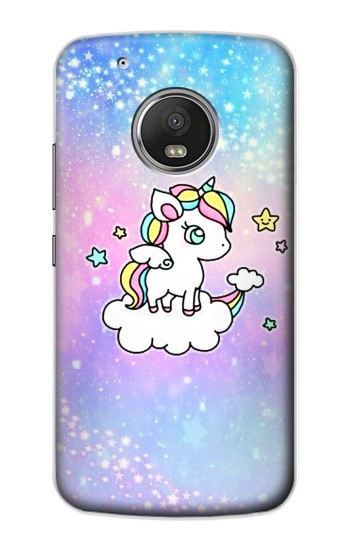 Printed Cute Unicorn Cartoon Apple iPod Touch 5G Case