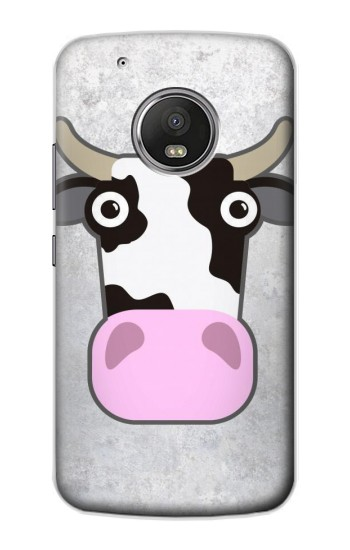 Printed Cow Cartoon Apple iPod Touch 5G Case