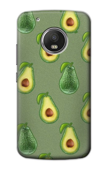 Printed Avocado Fruit Pattern Apple iPod Touch 5G Case