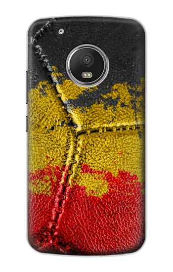 Printed Belgium Flag Vintage Football 2018 Apple iPod Touch 5G Case