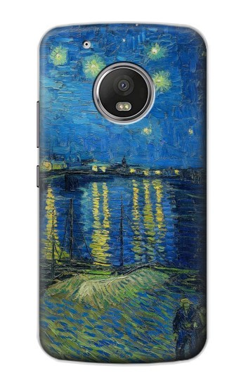 Printed Van Gogh Starry Night Over Rhone Apple iPod Touch 5G Case