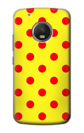 Printed Red Spot Polka Dot Apple iPod Touch 5G Case