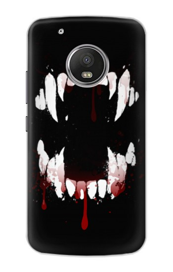 Printed Vampire Teeth Bloodstain Apple iPod Touch 5G Case
