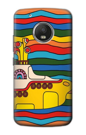 Printed Hippie Yellow Submarine Apple iPod Touch 5G Case