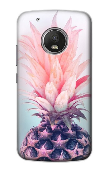 Printed Pink Pineapple Apple iPod Touch 5G Case