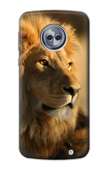 Printed Lion King of Forest Motorola Moto G6 Plus Case
