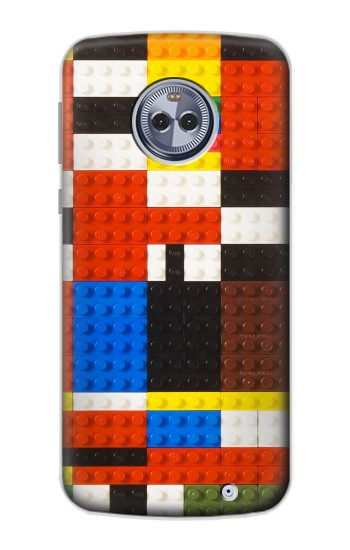 Printed Brick Toy Lego Graphic Printed Motorola Moto G6 Plus Case