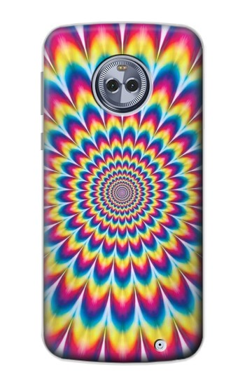 Printed Colorful Psychedelic Motorola Moto G6 Plus Case