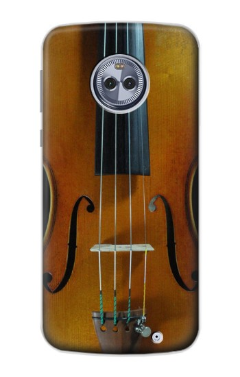 Printed Violin Motorola Moto G6 Plus Case