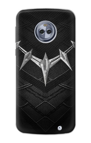 Printed Black Panther Inspired Costume Necklace Motorola Moto G6 Plus Case