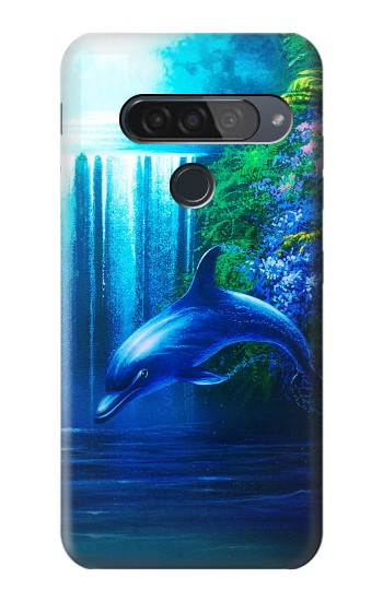 Printed Dolphin LG G8S ThinQ Case