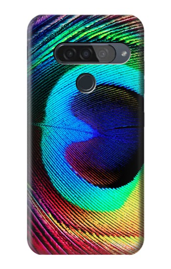 Printed Peacock LG G8S ThinQ Case