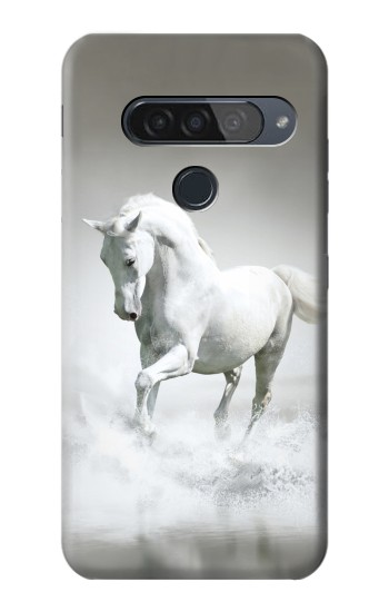 Printed White Horse LG G8S ThinQ Case