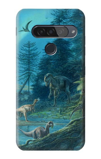 Printed Jurassic Park Dinosaurs LG G8S ThinQ Case