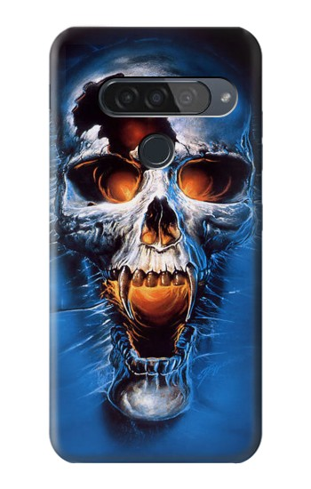Printed Vampire Skull LG G8S ThinQ Case